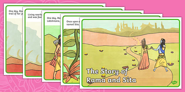 The Story of Rama and Sita Story - diwali, hinduism, religion