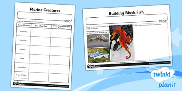 PlanIt - Art UKS2 - The Seaside Unit Home Learning Tasks