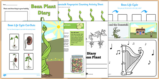 Top 10 Beanstalk Activity Pack - top 10, beanstalk, activity, pack, top ten