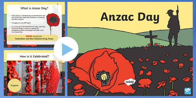 Anzac Day Information PowerPoint - anzac, anzac day, australia
