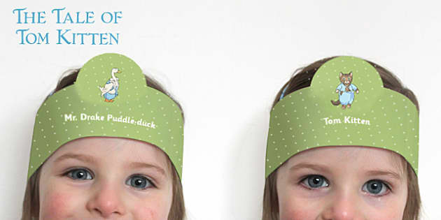 Beatrix Potter - The Tale of Tom Kitten Role Play Headband - beatrix potter, tom kitten