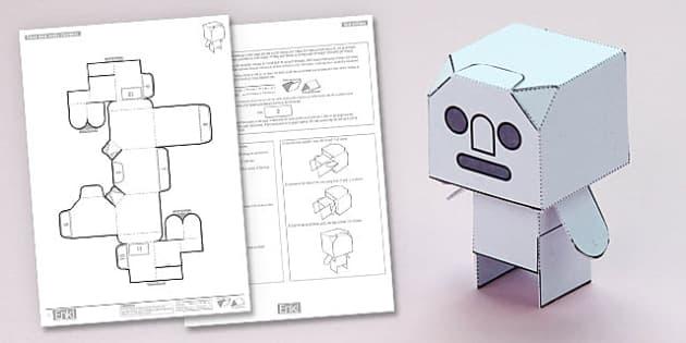 Enkl Blank Desk Buddy Character Printable - enkl, blank, desk buddy, character, printable