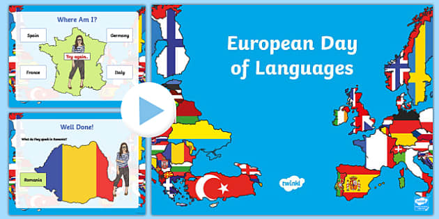 European Day of Languages (UK) PowerPoint