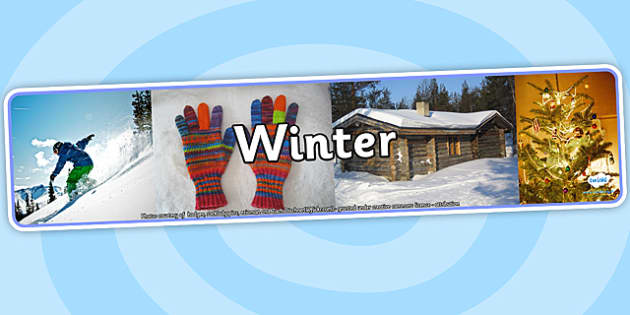 Winter Photo Display Banner - winter, photo display banner, photo banner, display banner, banner,  banner for display, display photo, display, picture, image