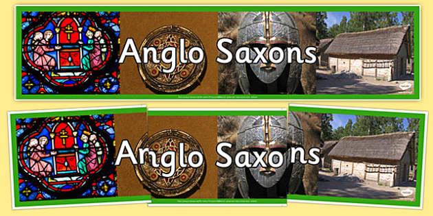 The Anglo Saxons Photo Display Banner - anglo saxons, photo display banner, display banner, banner, photo banner, header, display header, photo header