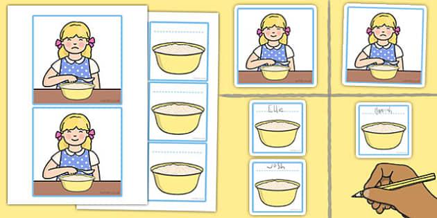 Porridge Pictogram Picture Cards - porridge, pictogram, picture