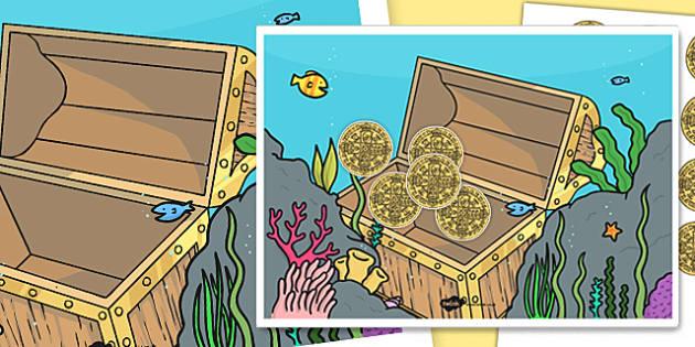 Treasure Chest Reward Chart - treasure chest, reward, chart, pirates