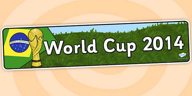 World Cup Display Banner - Football, Sport, Topic, Soccer, Display, Posters, Freize, Footballs,world cup