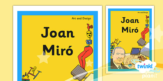 PlanIt - Art KS1 - Miro Unit Book Cover - planit, book cover, art, ks1, miro