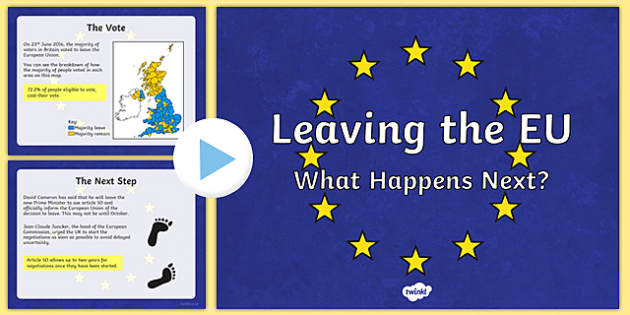 Leaving the EU: What Next? PowerPoint