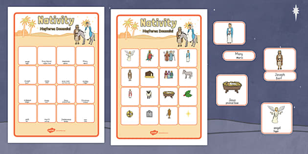 Nativity Vocabulary Matching Mat Romanian Translation - romanian, nativity, vocabulary, matching, mat