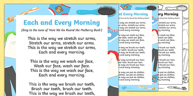Each and Every Morning Song
