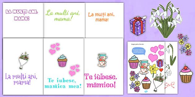 Felictare de Ziua Mamei, Colaj - mama, 8, martie, arte