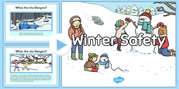 Winter Safety PowerPoint - winter, safety, powerpoint, winter safety