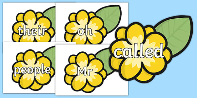Phase 5 Tricky Words on Flowers - phase 5, tricky words, bees, flowers, plants, trciky words,trickywords,tyricky words,trickey words,phase5,phase 5 phonis,phonics phase 5b,phase 5d,phase 5a phonics,phase 5phonics,ticky words