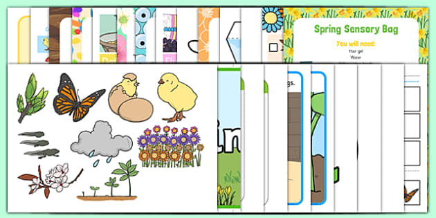 Childminder Spring Resource Pack - Spring, Flowers, animals, EYFS