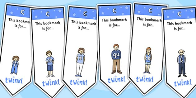 c Sound Family Editable Bookmarks - c sound family, editable bookmarks, bookmarks, editable, behaviour management, classroom management, rewards, awards