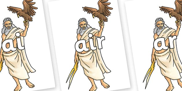 Phase 3 Phonemes on Zeus - Phonemes, phoneme, Phase 3, Phase three, Foundation, Literacy, Letters and Sounds, DfES, display