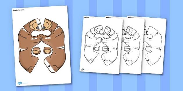 Bear Bee-Bot Jacket - bear, bee bot, bee-bot, jacket, activity, craft