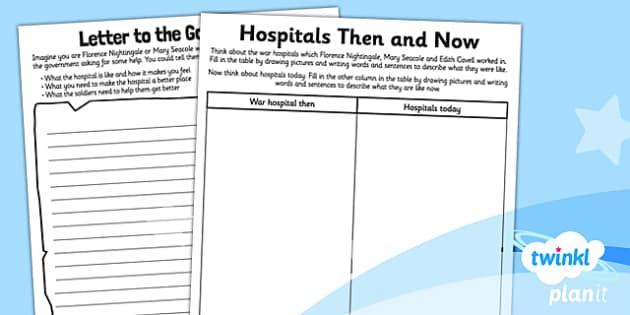 PlanIt - History KS1 - Nurturing Nurses Unit: Home Learning Tasks