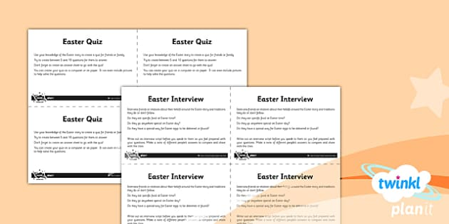 PlanIt - RE Year 3 - Good Friday Unit Home Learning Tasks - planit, religious education, re, good Friday, year 3, home learning