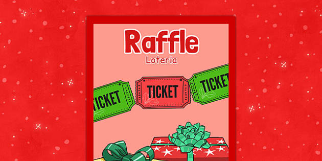 Christmas Themed Raffle Poster Polish Translation - polish, christmas, themed, raffle, poster, display