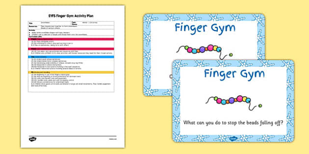 EYFS Snowflake Finger Gym Plan and Prompt Card Pack - eyfs, snowflake, finger gym, plan, prompt, pack