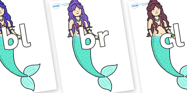 Initial Letter Blends on First Sister - Initial Letters, initial letter, letter blend, letter blends, consonant, consonants, digraph, trigraph, literacy, alphabet, letters, foundation stage literacy
