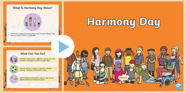 Australia - Harmony Day PowerPoint Presentation - australia, Harmony Day, cultural, diversity, powerpoint