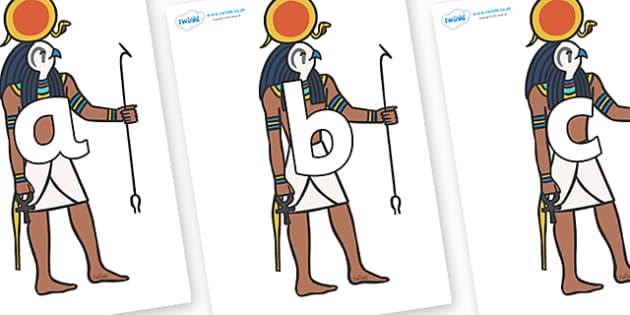 Phoneme Set on Egyptian Figures - Phoneme set, phonemes, phoneme, Letters and Sounds, DfES, display, Phase 1, Phase 2, Phase 3, Phase 5, Foundation, Literacy