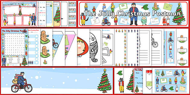 Resource Pack to Support Teaching on The Jolly Christmas Postman - resource packs, packs