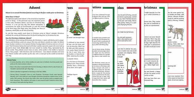 KS2 Christmas Differentiated Reading Comprehension  Activity Pack - Christmas, Nativity, Jesus, xmas, Xmas, Father Christmas, Santa, history of Christmas, Christmas tre