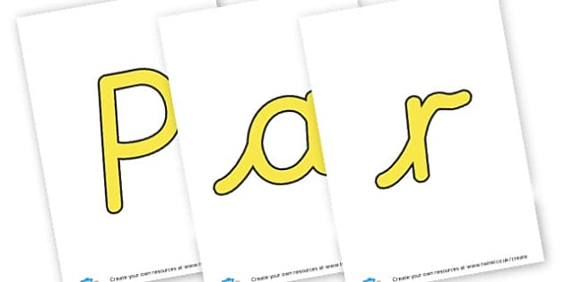 Parent Notice Board - display lettering - Classroom Areas Primary Resources, Posters, Areas, Zones, Banners