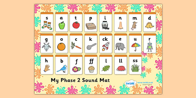 Splat Themed Phase Sound Mat - splat, phase, phase 2, sound mat