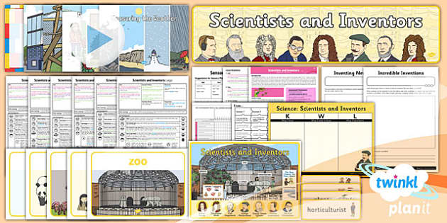 PlanIt - Science Year 1 - Scientists and Inventors Unit Pack - planit, science, year 1, scientists and inventors, unit pack