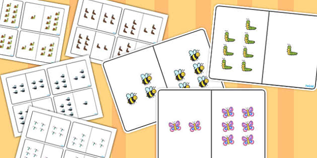 Minibeast Themed Counting Number Bonds to 8 Pack - number, bonds