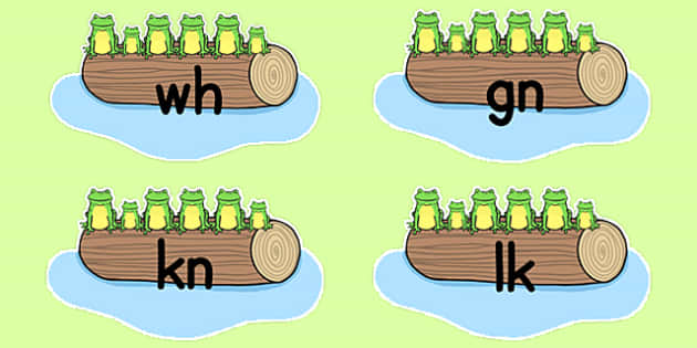 Editable Silent Letters on Five Speckled Frogs - editable, silent, letters, five speckled frogs