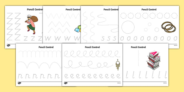 Criminal Granny Pencil Control Sheets - gangsta granny, criminal granny, david walliams, pencil control
