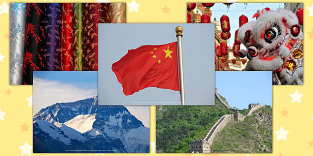 Let's Go to China Photo Clip Art Pack - china, clip art, pack, country