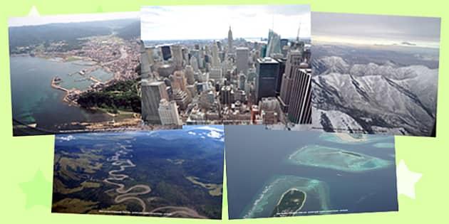 What a Wonderful World Aerial Views Photo Pack - wonderful, world