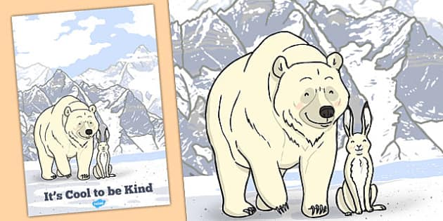 Its Cool to Be Kind Motivational Poster - motivational, poster