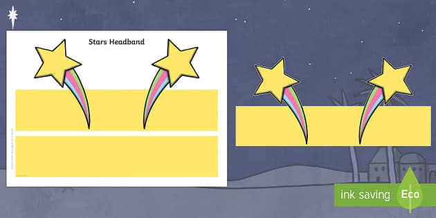 Stars Headband - Headbands, star of the week, role-play