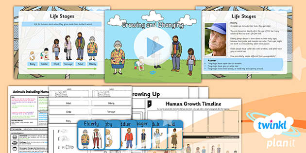 PlanIt - Science Year 2 - Animals Including Humans Lesson 2: Growing and Changing