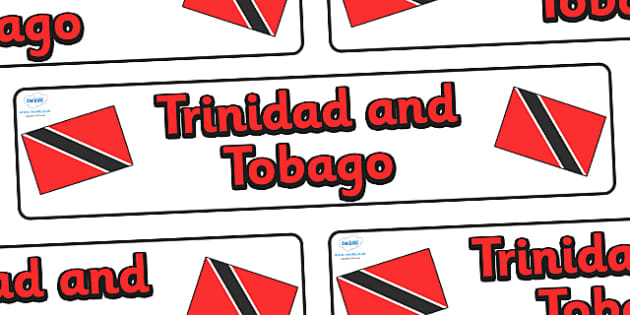 Trinidad and Tobago Display Banner - Trinidad and Tobago, Olympics, Olympic Games, sports, Olympic, London, 2012, display, banner, sign, poster, activity, Olympic torch, flag, countries, medal, Olympic Rings, mascots, flame, compete, events, tennis,