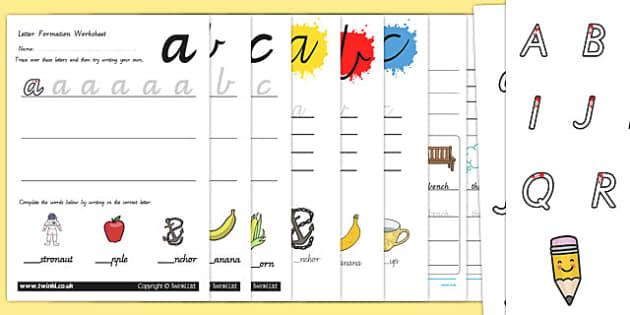 Victoria Cursive Letter Formation Pack - Australia, handwriting, literacy