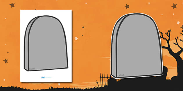 Editable Halloween Grave Stones (A4) - Editable Halloween Grave Stones, grave stones, A4, display, poster, Halloween, pumpkin, witch, bat, scary, black cat, mummy, grave stone, cauldron, broomstick, haunted house, potion, Hallowe'en