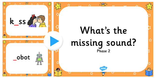 What's the Missing Phase 2 Sound? PowerPoint - phase 2, sound, missing