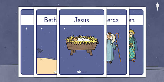 The Nativity Display Posters - nativity, christmas, display posters, display, poster