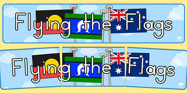National Reconciliation Flags Display Banner - display, banner