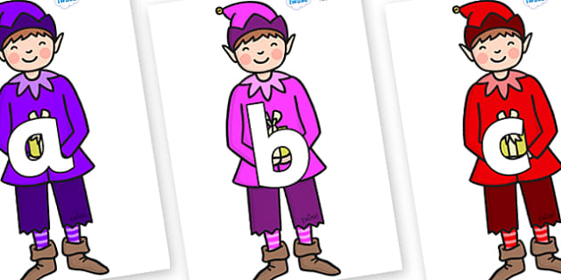 Phoneme Set on Boy Elves (Multicolour) - Phoneme set, phonemes, phoneme, Letters and Sounds, DfES, display, Phase 1, Phase 2, Phase 3, Phase 5, Foundation, Literacy